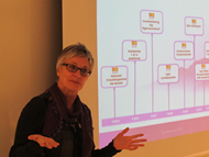 Foto: Kredittprisvinner Wenche Garder, Head of Billing & Credit, TeliaSonera (Netcom).